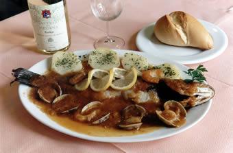 Lubina a la asturiana
